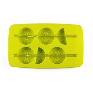 TORO Forma silikon na led s brčkem, citrón, zelená/ bílá obraz