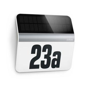 Steinel STEINEL 007140 - LED Solární domovní číslo XSolar LH-N LED/0, 03W nerez IP44 obraz