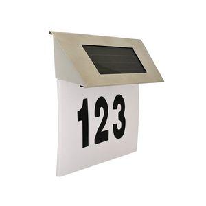 Polux LED Solární domovní číslo 1, 2V IP44 obraz