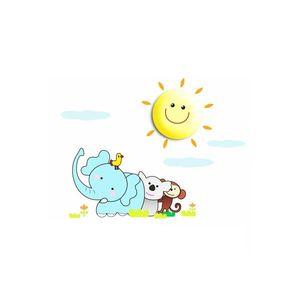 Milagro LED Dětské nástěnné svítidlo LED/1W/3xAAA sluníčko obraz