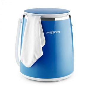 OneConcept Ecowash-Pico, modrá, mini pračka, funkce ždímání, 3, 5 kg, 380 W obraz