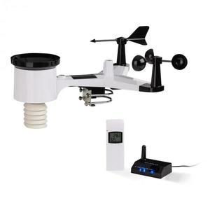 Waldbeck Halley, profesionální meteorologická stanice, měření 6 v 1, senzor do vnitřního a vnějšího prostředí, WiFi, aplikace obraz