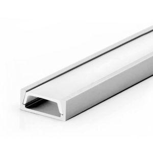 T-LED Nástěnný profil pro LED pásky Mikro Vyberte variantu a délku: Profil bez difuzoru (krytu) 1m 09212 obraz