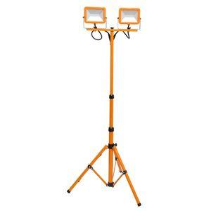 Ecolite LED reflektor na stojanu WORK RMLED-2x30W/STJ/ORA RMLED-2x30W/STJ/ORA obraz