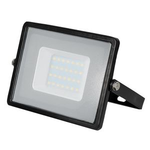 LED Solution Černý LED reflektor 30W Premium Barva světla: Teplá bílá 400 obraz