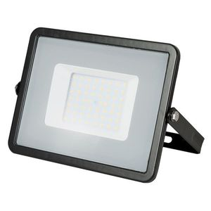 LED Solution Černý LED reflektor 50W Premium Barva světla: Teplá bílá 406 obraz