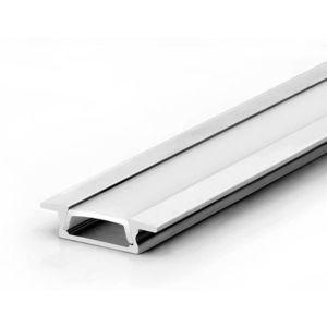 LED Solution Vestavný profil pro LED pásky V2 délky a typy profilů: Profil bez difuzoru (krytu) 1m obraz