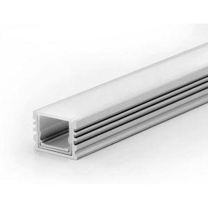 LED Solution Nástěnný profil pro LED pásky voděodolný IP67 délky a typy profilů: Profil + Koncovky + Čirý kryt 1m 69131_IPCIR1M obraz