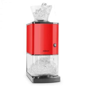 OneConcept Icebreaker, červený, drtič ledu s výkonem 15 kg/h, objemem 3, 5 l, zásobníkem na led, nerezová ocel obraz