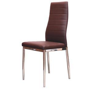 Jídelní židle MILÁNO hnědá obraz