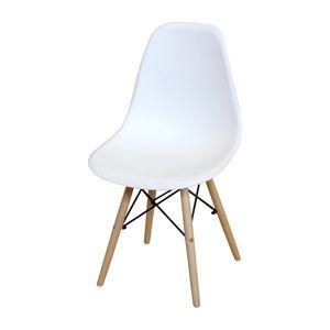 Jídelní židle UNO bílá obraz
