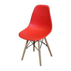 Jídelní židle UNO červená obraz