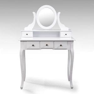Toaletní stolek se zrcadlem STELLA obraz