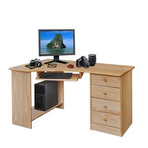 PC stůl rohový 8846 lakovaný obraz