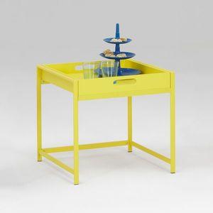 Servírovací stolek ANNIKA žlutý obraz