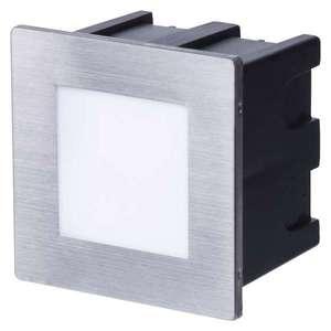 EMOS LED vestavné světlo ke schodišti 1, 5W čtverec Barva světla: Teplá bílá ZC0109 obraz