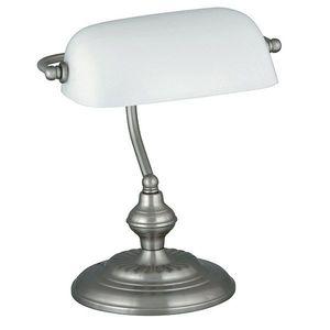 Rabalux 4037 Bank stolní lampa, bílá obraz