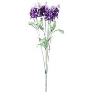 Umělá květina Levandule fialová, 34 cm obraz