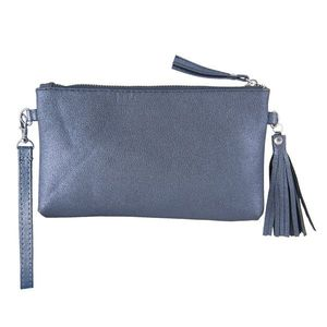 Modrá kabelka Glitter Metalic - 13*33 cm obraz
