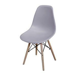 Jídelní židle UNO šedá obraz