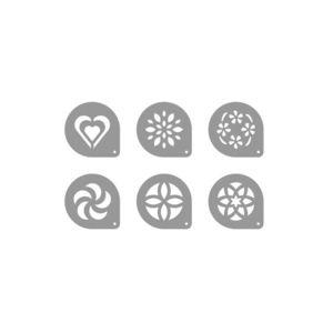 Tescoma šablony na cappuccino myDRINK, 6 ks obraz