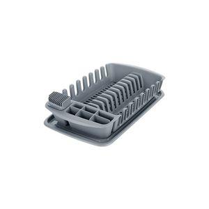Tescoma odkapávač s podnosem CLEAN KIT, šedý obraz