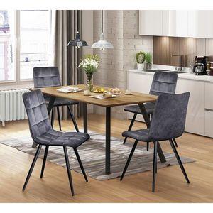 Jídelní stůl BERGEN dub obraz