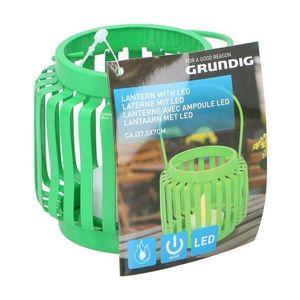 Grundig Grundig - LED Lucerna LED/1xCR2032 zelená obraz