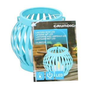 Grundig Grundig - LED Lucerna LED/1xCR2032 modrá obraz