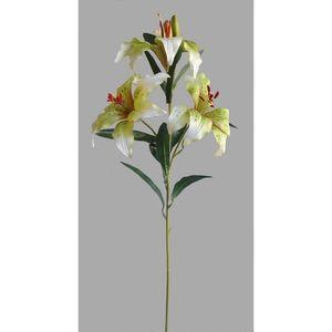 Umělá květina Lilie, bílá obraz