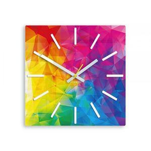 Mazur Nástěnné hodiny Amazing barevné obraz