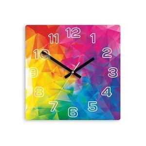 Mazur Nástěnné hodiny Emotions barevné obraz