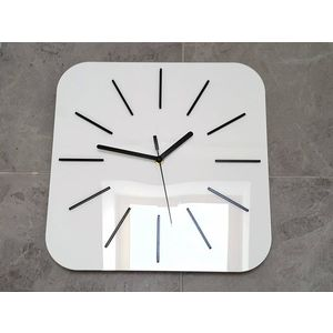 Mazur Nástěnné hodiny Hipnotic bílé obraz
