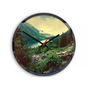Mazur Nástěnné hodiny Panorama barevné obraz
