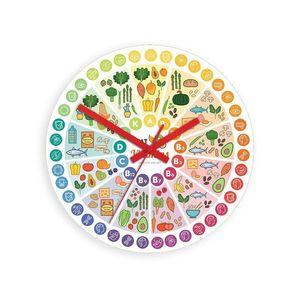 Mazur Nástěnné hodiny Vitamins barevné obraz