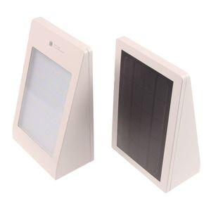 T-LED Solární fasádní svítidlo s pohybovým čidlem bílé Barva světla: Teplá bílá obraz