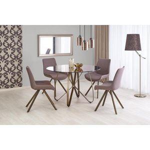 Jídelní stůl skleněný LUNGO Halmar obraz