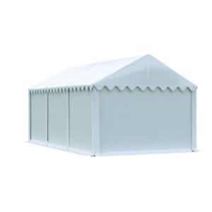 Skladový stan 3x6m bílá EKONOMY obraz