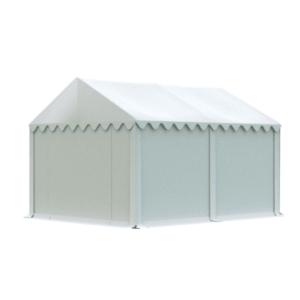 Skladový stan 4x4m bílá EKONOMY obraz