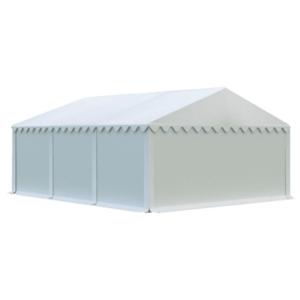 Skladový stan 5x6m bílá EKONOMY obraz