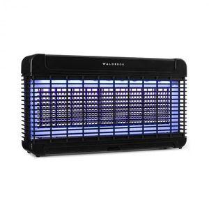 Waldbeck Mosquito Ex 9500, lapač hmyzu, 13 W, 300 m², LED diody, jímací miska, řetěz, černý obraz