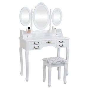 """Toaletní stolek Anne """"White"""" Henriette obraz"""