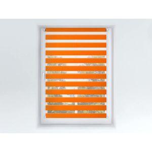 FEXI Roleta Den a noc, Origin slim mandarinka, A 033, 220x78 cm obraz