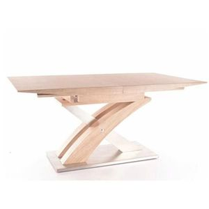 Jídelní stůl rozkládací 160/220 BONET dub sonoma Tempo Kondela obraz