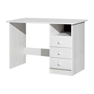 PC stůl 8844B bílý lak obraz