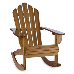 Blumfeldt Rushmore, zahradní židle, houpací křeslo, adirondack, 71 x 95 x 105 cm, hnědá obraz
