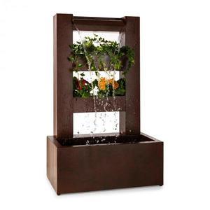 Blumfeldt Lemuria, zahradní fontána, květináč, vodní hra, pumpa, 30 W, 10 m kabel obraz