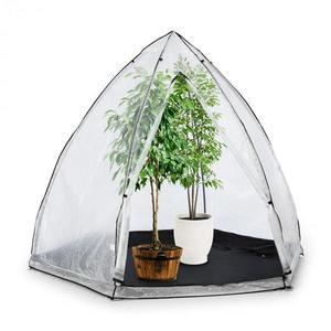 Waldbeck Greenshelter M, skleník k přezimování rostlin, 240 x 200 cm, ocelové tyče Ø 25 mm, PVC obraz