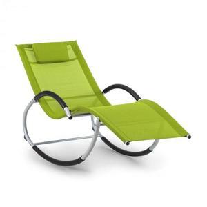 Blumfeldt Westwood, houpací lehátko, ergonomické, hliníkový rám, zelené obraz