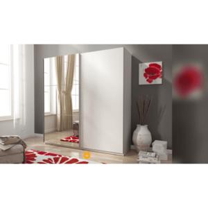 PIASKI skříň MILLY II 150, bílá 150x214x63 bílá / bílá obraz